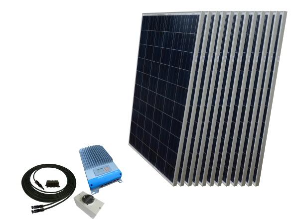 48V - Off Grid Solar Kits - Excluding Batteries