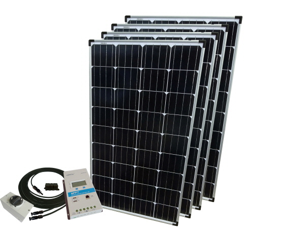 12V - Off Grid Solar Kits - Excluding Batteries