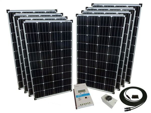 24V - Off Grid Solar Kits - Excluding Batteries