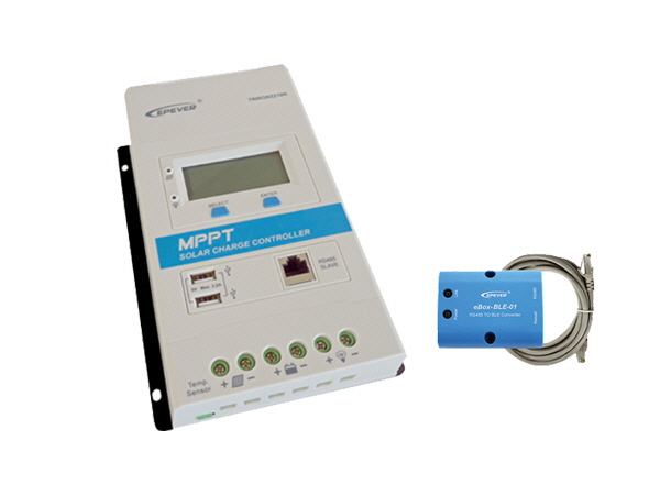 MPPT  10A - 12/24V Solar Controller & Bluetooth Adapter
