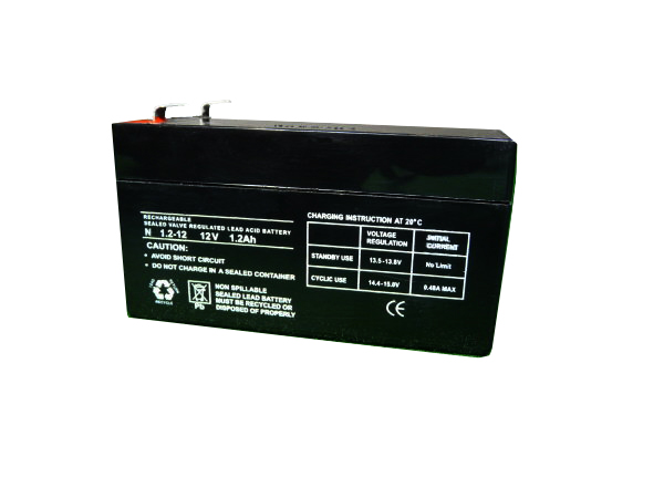 1.2Ah - 12V Sealed Lead Acid Battery