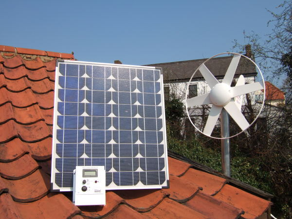 Sunshine Solar & Wind Power Kit
