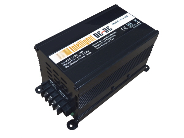 Sunshine 24V to 12V - 20A DC/DC Isolated Converter