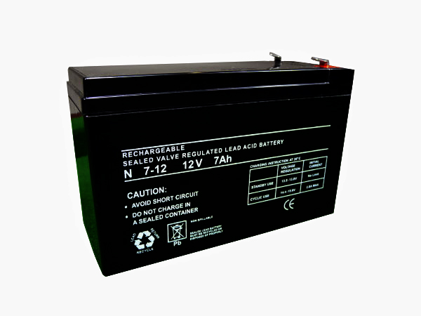 7.2Ah - 12V Sealed Lead Acid Battery