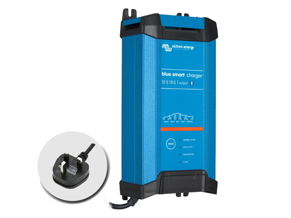 Blue Smart IP22 Charger 12V/15A - 1 Output - UK Plug