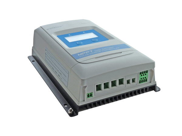 Dual Battery MPPT Solar Charge Controller 10A 12V/24V - With Display