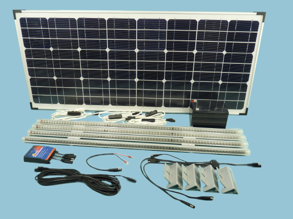 Solar Lighting Kit fastFIX Mono 60