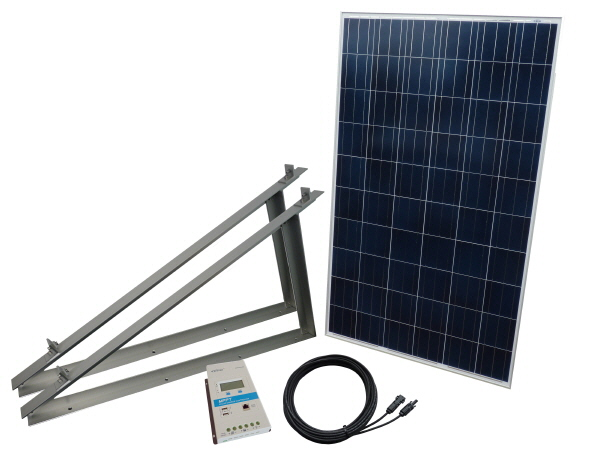 275W Off Grid Solar Power Kit with Stand