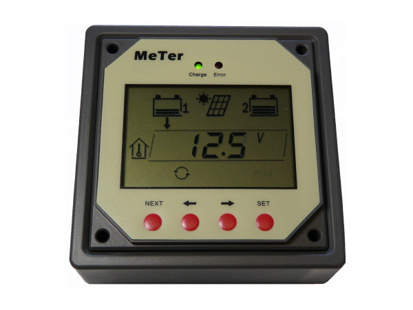 Remote Meter for Dual Battery Controller
