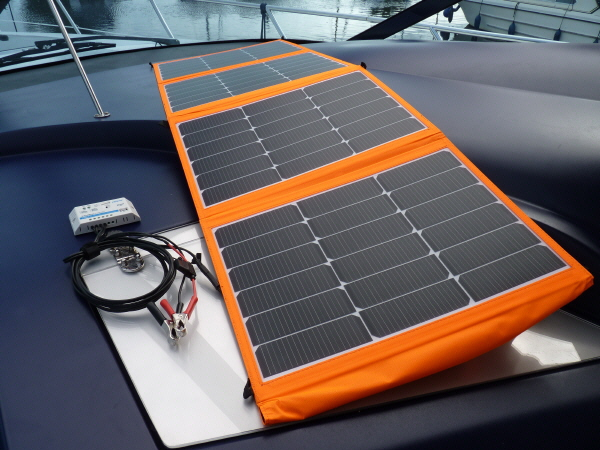 120W Sunshine Solar Tourer Kit