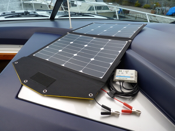 80W Sunshine Solar Tourer Kit