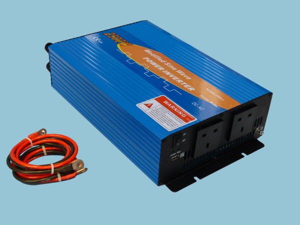 2500W - 12V Modified Sine Wave Sunshine Power Inverter