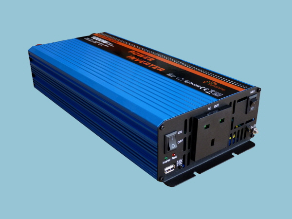 1000W - 12V Pure Sine Wave Sunshine Power Inverter