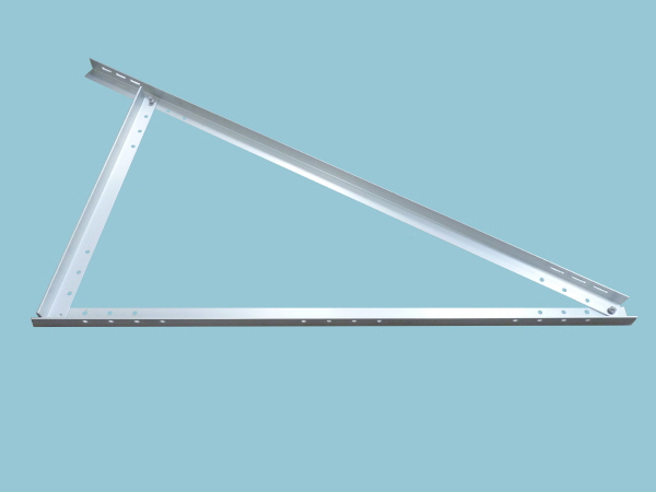 Solar Panel Adjustable Triangle Support Frame - 1410mm