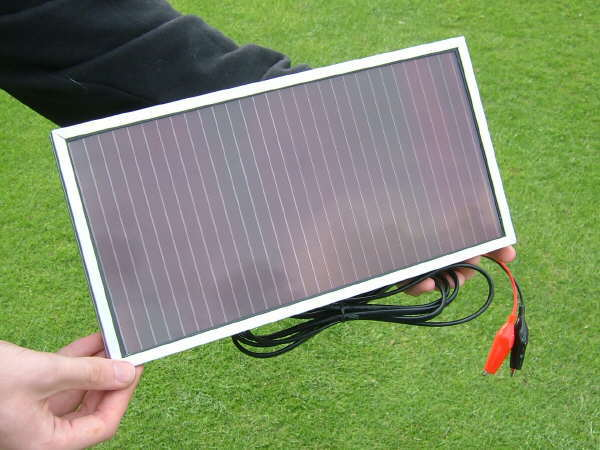 Sunshine Solar Panel Amorphous 2 Watt 12 Volt