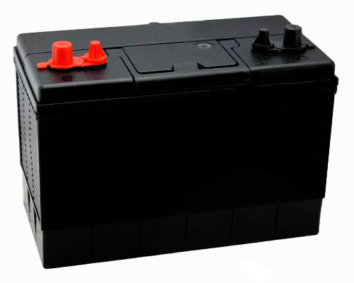 Deep Cycling 116AH 12V Sealed Leisure Battery - Twin Posts