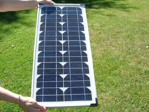Sunshine Solar Panels fastFIX Mono 24W 12V