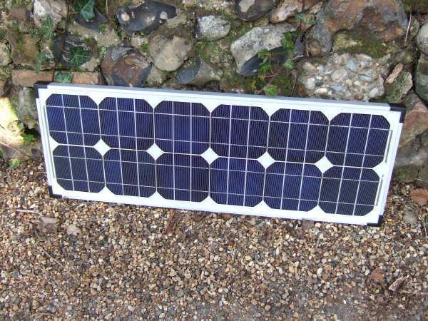 Sunshine Solar Panels fastFIX Mono 32W 12V