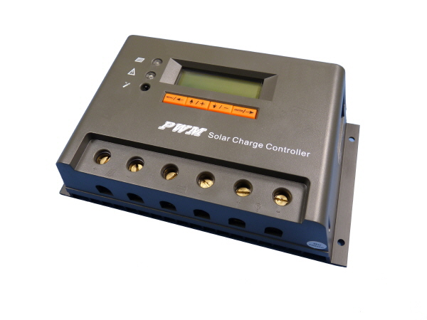 Solar Charge Controller with LCD 10A - 12/24V