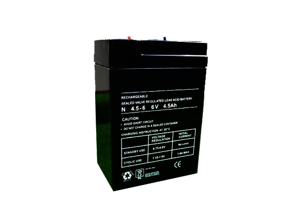 4.5Ah - 6V Sealed Lead Acid Battery