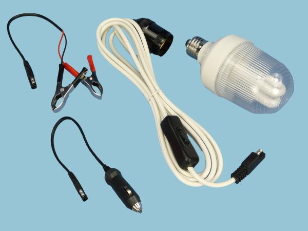 CFL lead & Connectors 5W - 12V