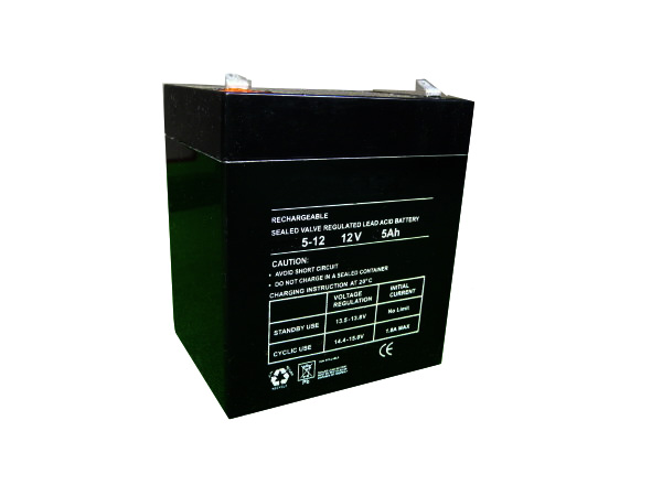 5Ah - 12V Sealed Lead Acid Battery