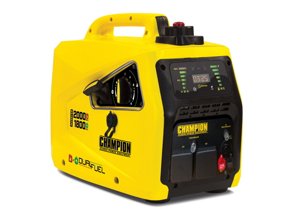Champion 82001i-E-DF Petrol & LPG Inverter Generator 2Kw