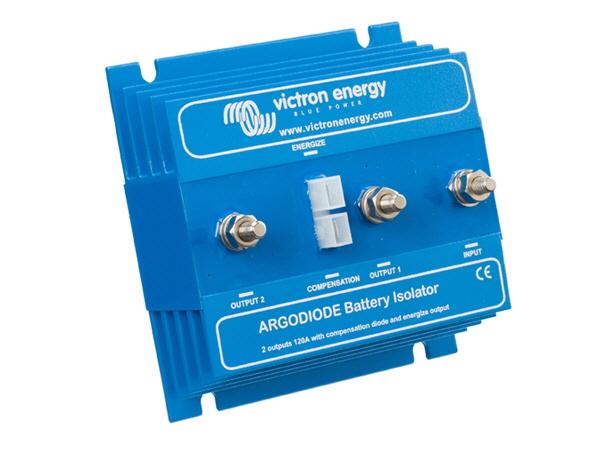 Argodiode 120-2AC Two Batteries 120A