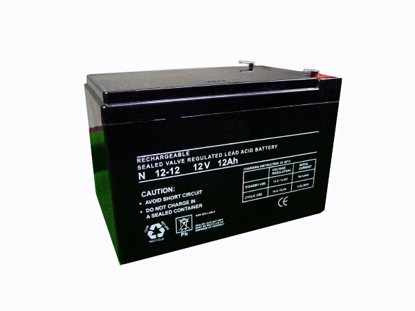 12Ah - 12V Sealed Lead Acid Battery
