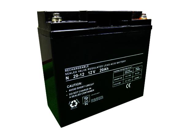 20Ah - 12V Sealed Lead Acid Battery