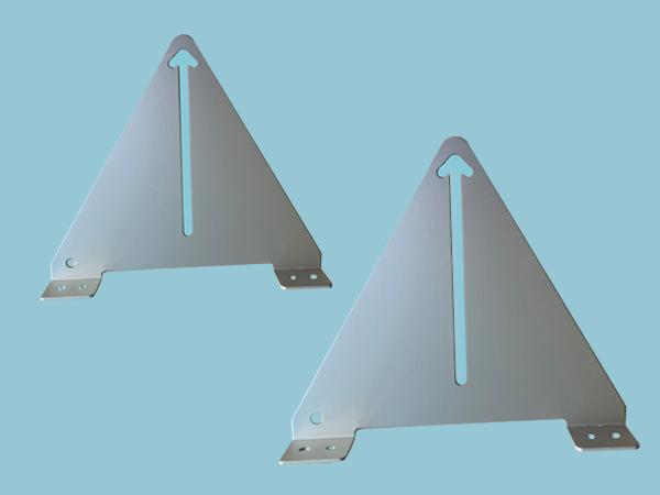 Narrow Boat Solar Panel Tilt & Flip Small Mounts