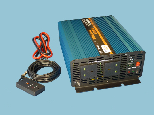 2000W - 12V Pure Sine Wave Sunshine Power Inverter C-Series