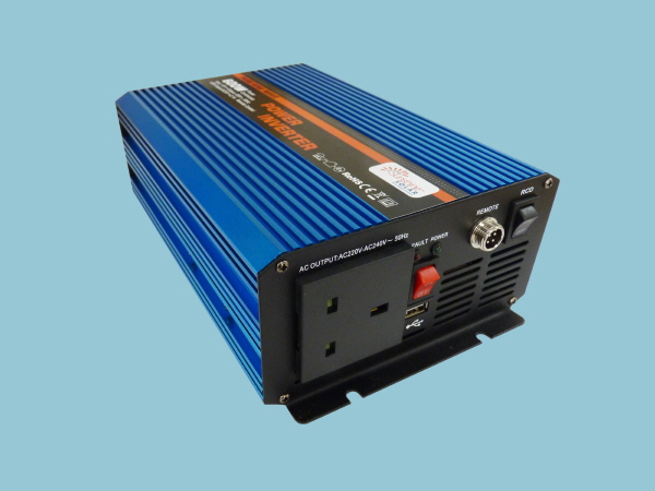 600W - 12V Pure Sine Wave Sunshine Power Inverter C-Series