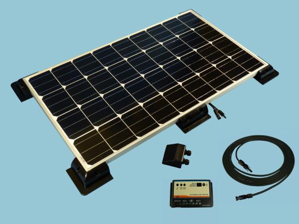 160W Sunshine Solar Caravan Motorhome & Boat Kit
