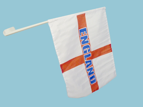 Box of 70 England Car Flags