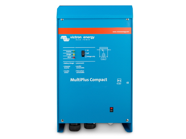 Victron MultiPlus Compact Inverter Charger 12V/1200VA 50A