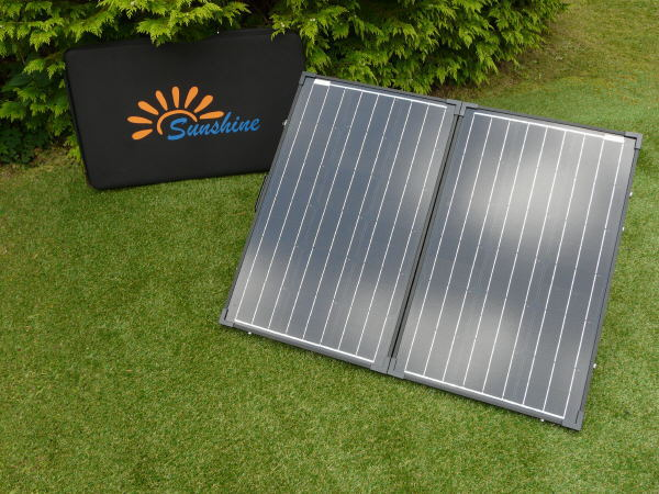 Sunshine Compact - Portable Solar Panel Kit 100W 12V