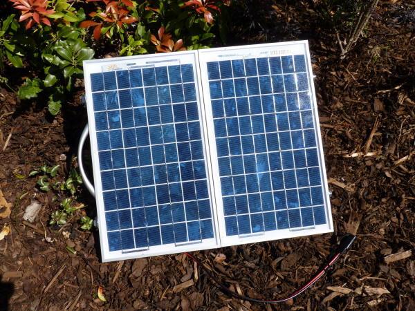 Sunshine Compact - Portable Solar Panel Kit 24W 12V
