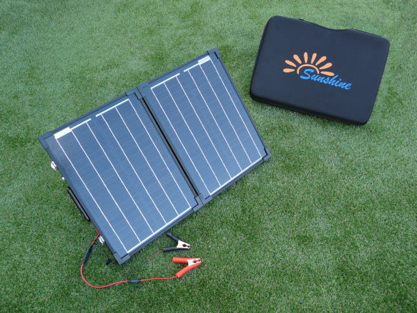 Sunshine Compact - Portable Solar Panel Kit 40W 12V