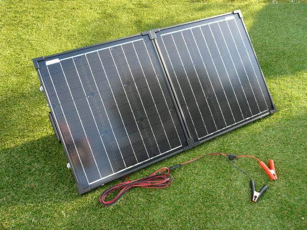 Sunshine Compact - Portable Solar Panel Kit 80W 12V