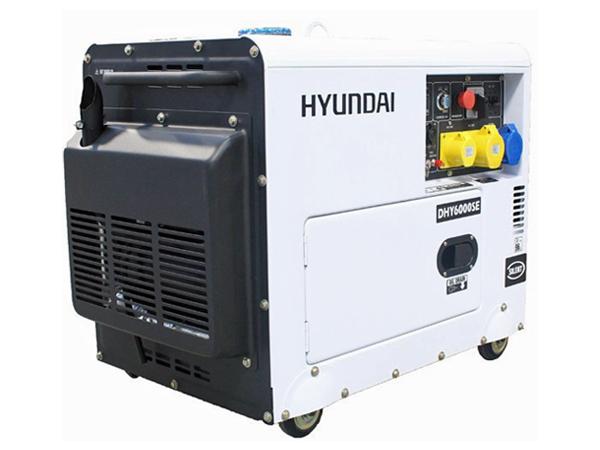 Hyundai DHY6000SE 5.2kW Standby Diesel Generator