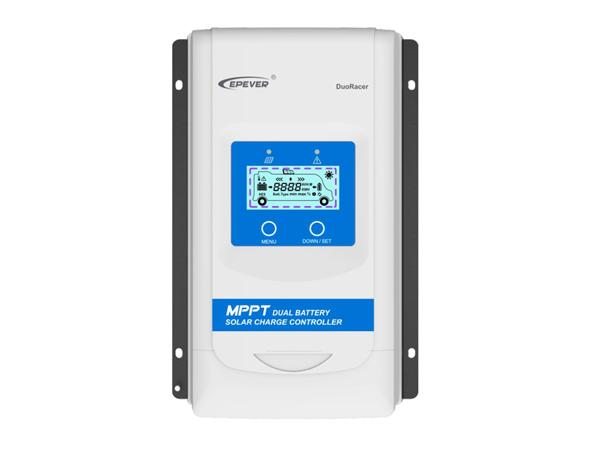DuoRacer Dual Battery MPPT Solar Controller 30A 12/24V