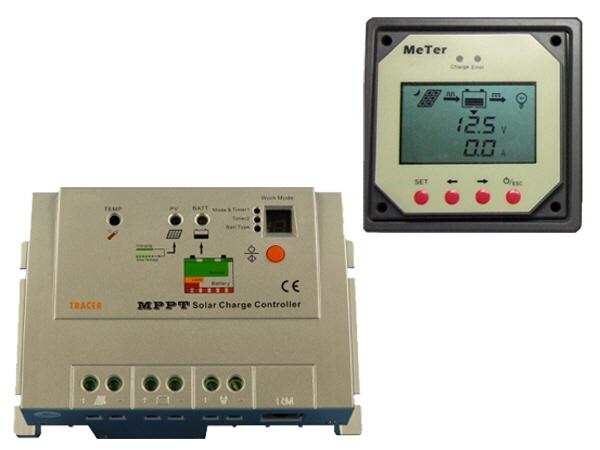 MPPT Solar Controller & Display 10A 12V/24V