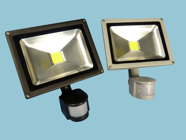 10W - 12V LED Flood Light with PIR Sensor