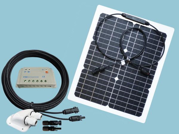 20W Sunshine Solar Flexible ETFE Kit