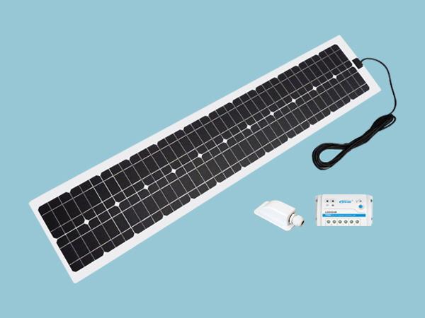 60W Sunshine Solar Flexible ETFE Range - Slimline Kit