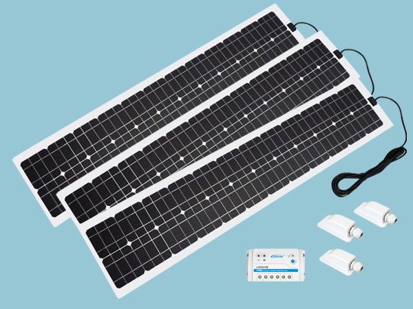 180W Sunshine Solar Flexible ETFE Range - Slimline Kit