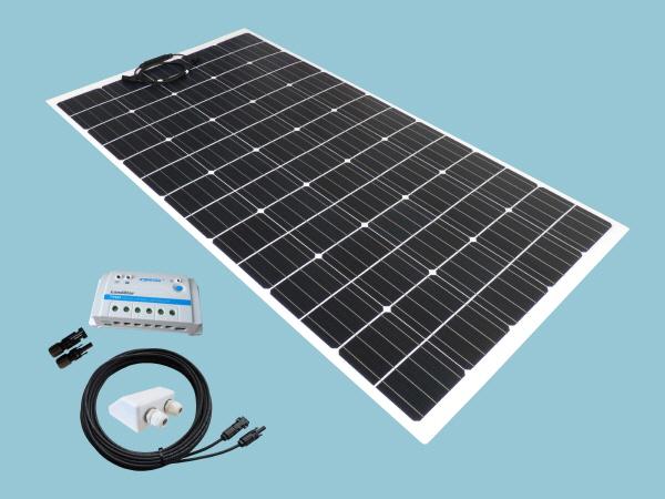 200W Sunshine Solar Flexible ETFE Range Kit