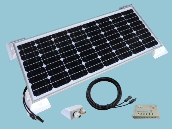 60W Sunshine Solar Caravan Motorhome & Boat Kit