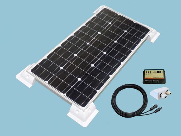 80W Sunshine Solar Caravan Motorhome & Boat Kit